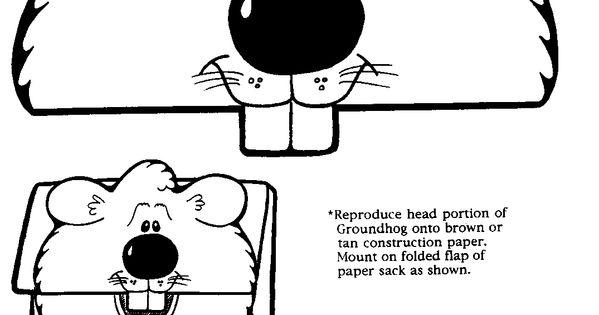 Image detail for -Sassy Sites!: Groundhog Day Crafts for Kids!