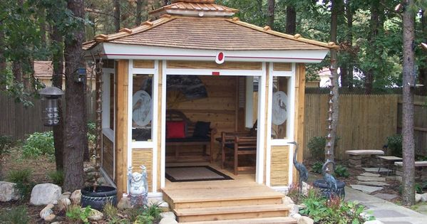 Pin By Historic Shed On Outdoor Living Tea House Design Japanese Tea House Tea House