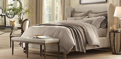 Restoration Hardware Outlet >> Restoration Hardware | Restoration hardware, Wingback headboard and Restoration