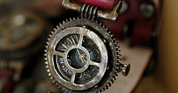 Steampunk watch awesome