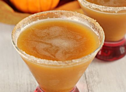 Apple Pumpkintini pumpkin drink halloween party