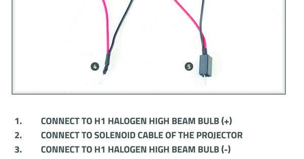 Halogen Wiring Diagram Relay Wiring Diagrams Blog Motorcycle Led Lighting Led Lights Motorcycle Wiring