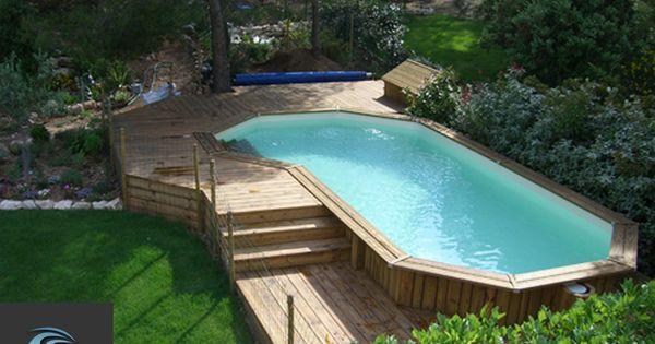 piscine hors sol am nagement recherche google hage uterom pinterest piscine hors sol. Black Bedroom Furniture Sets. Home Design Ideas