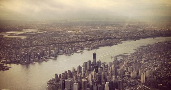 New York City by Jamie Beck - view of lower Manhattan -