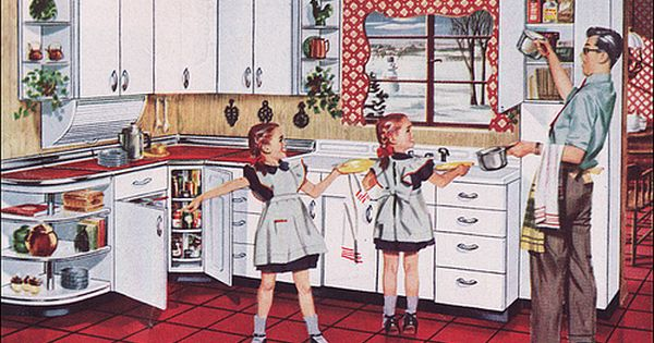 1950s Kitchens Youngstown Series by American Vintage Home via