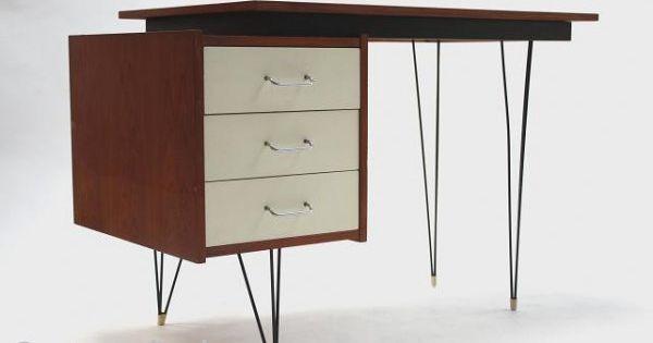 Pastoe bureau ontwerper cees braakman vintage furniture pinterest bureaus - Kantoor guariche ...