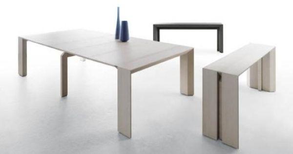 Mesa consola mesas plegables para salon pinterest mesas for Mesa consola extensible