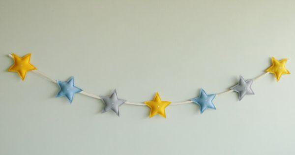 The Little Prince Colors Felt Bunting Garland Banner Nursery Bedroom ...