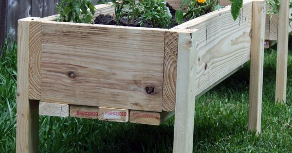 Elevated Off Ground Garden Beds With Plans Gardens