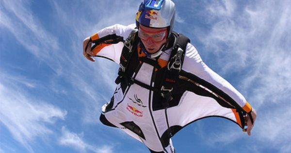 By red bull air force via flickr wingsuit ok i 39 ve jumped out of an airplane but this is - Military wingsuit ...