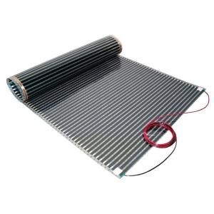 Warmfilm 10 Ft X 36 In 120 Volt Floor Heating Film Covers 30 Sq Ft 36ff120 10 At The Home Depot Floor Heating Systems Flooring Radiant Floor Heating