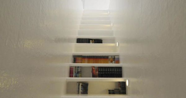 First drawer stairs, now bookshelf stairs. I am going to need to