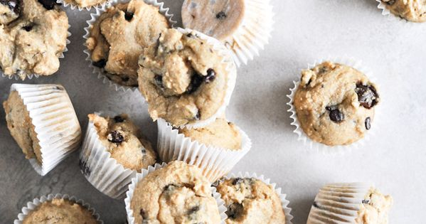Chocolate chip cookie cupcakes- whole wheat
