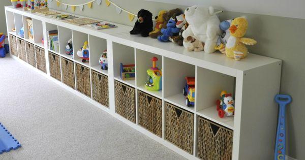 Ikea expedit playroom storage reveal habitaciones de - Habitaciones de ensueno ...