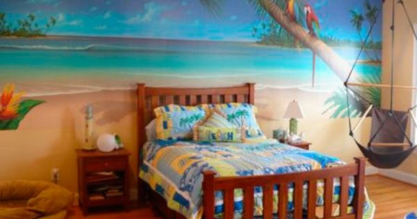 Decorating theme bedrooms - Maries Manor: Tropical beach style bedroom decorating ideas