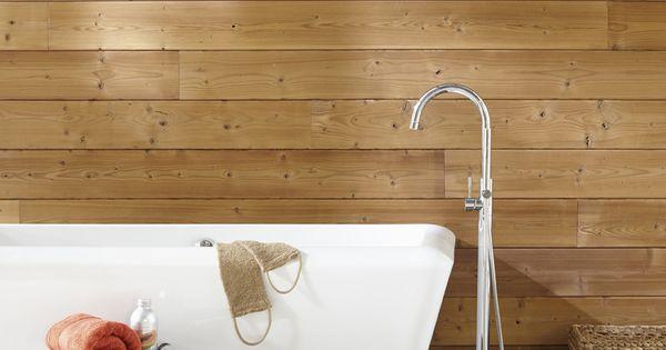 Ambiance sauna bain relaxant salledebains lambris zen for Bain relaxant maison
