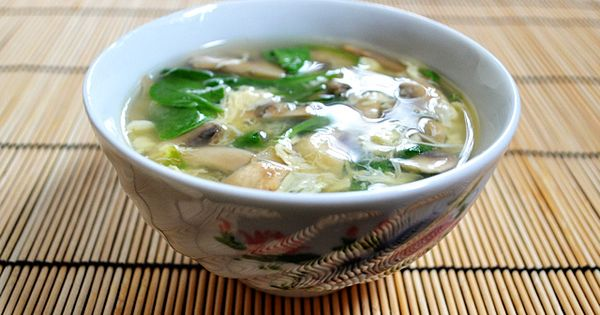Must try this. Easy Egg Drop Soup by budgetbytes.