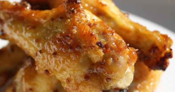 Honey Dijon Chicken Drummettes | Recipe | Honey, Chicken and Wings
