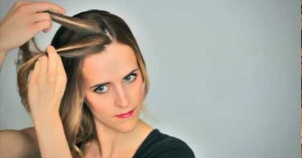 Waterfall Braid - Updo - Video Tutorial hair braid tutorial video