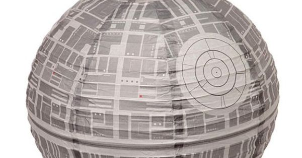 Death Star Paper Lantern for Star Wars Party . . .