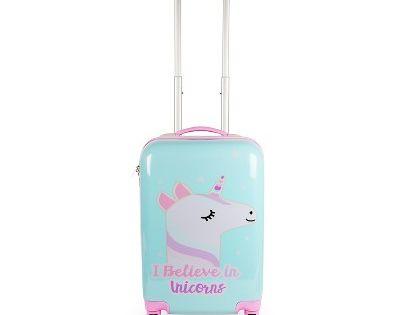 20 Kids Hardside Suitcase Unicorn Dazzle Pink Suitcase Cute Suitcases Carry On Suitcase