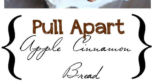 Apple Cinnamon Pull Apart Bread | Recipe | Pull Apart, Pull Apart ...