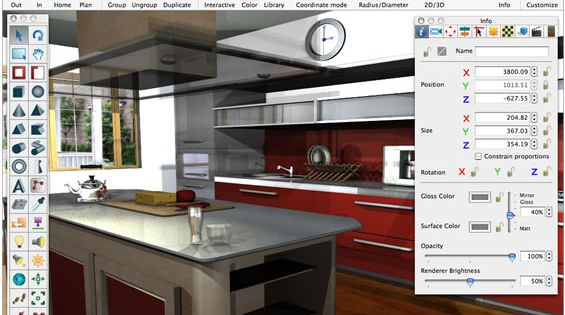 create your own online design your free kitchen design software where