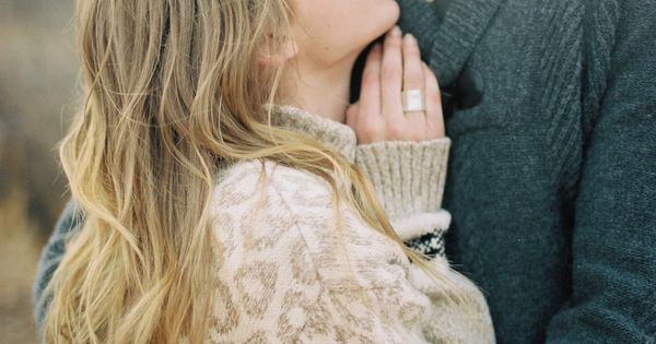 Snuggle Up | Engagement Photo Idea [ ItsMyMitzvah.com ] wedding celebrate personalized