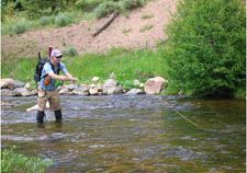 Stream Flow And Fly Fishing Illustration Of Stage Discharge Relationship With Images Fly Fishing Basics Fly Fishing Fly Fishing Tips