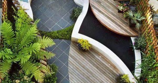 Idee amenagement jardin avec meubles d ext rieur en bois for Organiser sa terrasse