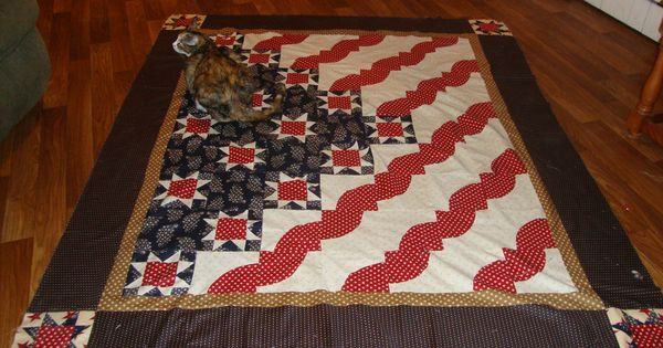 Stars And Stripes Quilt By Mark Lipinski Quilt Of Valor