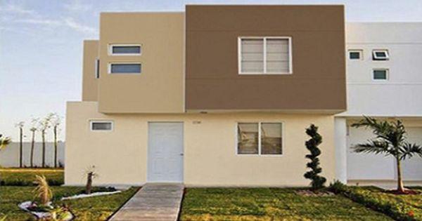 Colores modernos para exteriores de casas en imagenes for Colores elegantes para exteriores