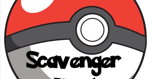 Pokemon Scavenger Hunt In The Library Pok 233 Mon Birthdays And Pokemon Birthday