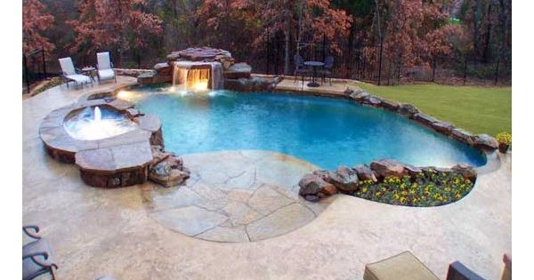 Eight Different Pool Designs For In Ground Pools Found On