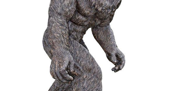 life size Bigfoot statue, Yowie, Yeti Abominable Snowman, Yeti ...