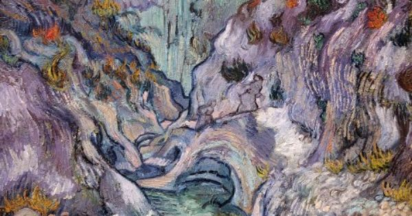 an interpretation of the ravine by vincent van gogh The setting vincent van gogh's ravine (1889) sits in the impressionist room of  the boston mfa, a breathtaking work of cool, subdued colors.