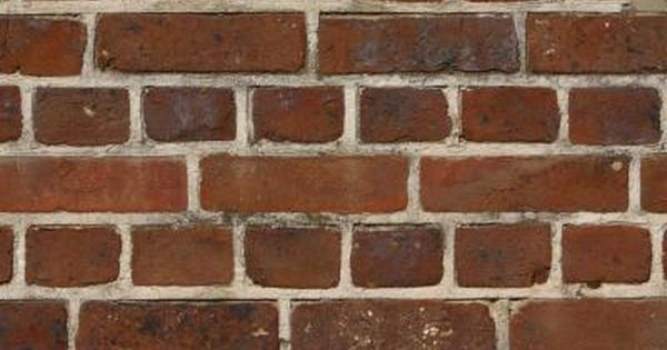 How To Make Sponge Bricks On Walls Diy Faux Brick Wall Faux Brick Walls Red Brick Walls