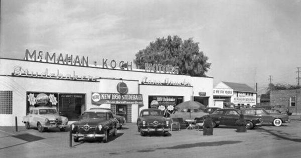 1949 studebaker dealership i think in the louisville ky area with new 39 50 studes. Black Bedroom Furniture Sets. Home Design Ideas