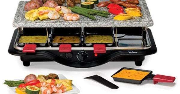 Raclette Tabletop Grill | Food, Cooking on the grill