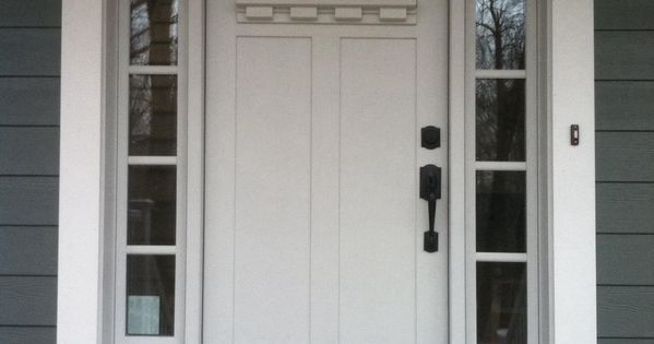 Clopay Craftsman Collection Fiberglass Front Door Factory
