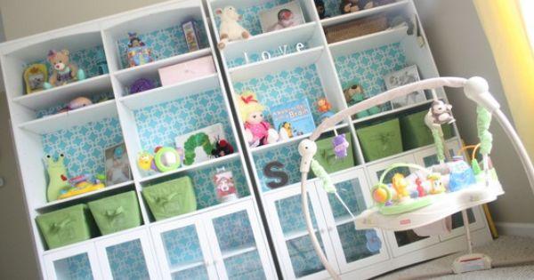 Kinderkamer Ideeen Pip : Kinderkamer ideeen pip kast pimpen met behang ...