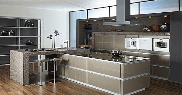 Horizon accento vitrine gember metallic zeyko keukens for Cuisine zeyko