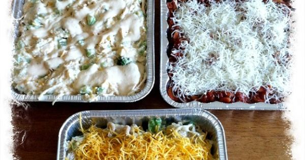 5 Easy Freezer Meals for dishes on the go for New Moms