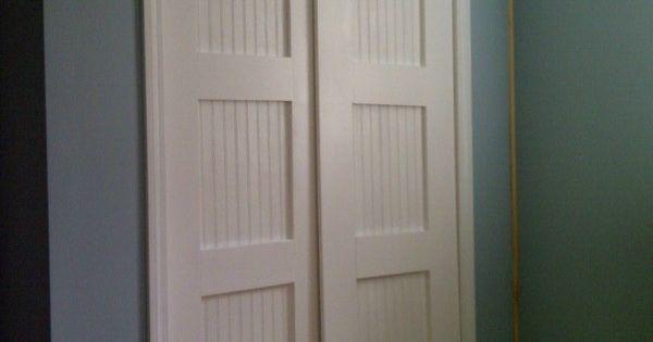 Bypass closet doors diy wood projects teach me woodshop for Wood bypass closet doors