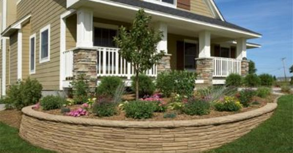 Natural Impressions Flagstone 4 X 12 Retaining Wall System Retaining Wall Concrete Retaining Walls Retaining Wall Design