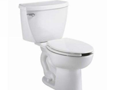 American Standard Cadet Pressure Assisted 2 Piece 1 6 Gpf Single Flush Elongated Toilet In White Seat Not Included 2462 016 020 American Standard Commercial Toilet Modern Toilet
