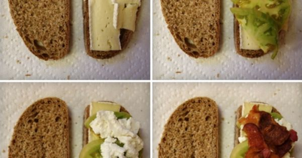 Green tomatoes, Brie and Goat cheese on Pinterest