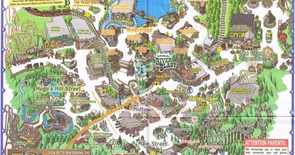 Silver Dollar City | Fantasylands....for the young at ...