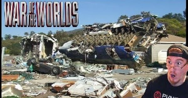 Plane Crash War Of The Worlds Universal Studios War Of The Worlds Universal Studios Universal Studios Hollywood
