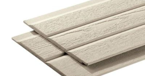 16 ft composite lap siding 25906 the home depot 10 ft for Synthetic wood siding